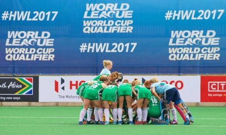 Limerick's Roisín Upton in action as Ireland face South Africa in 2018 World Cup Qualification clash