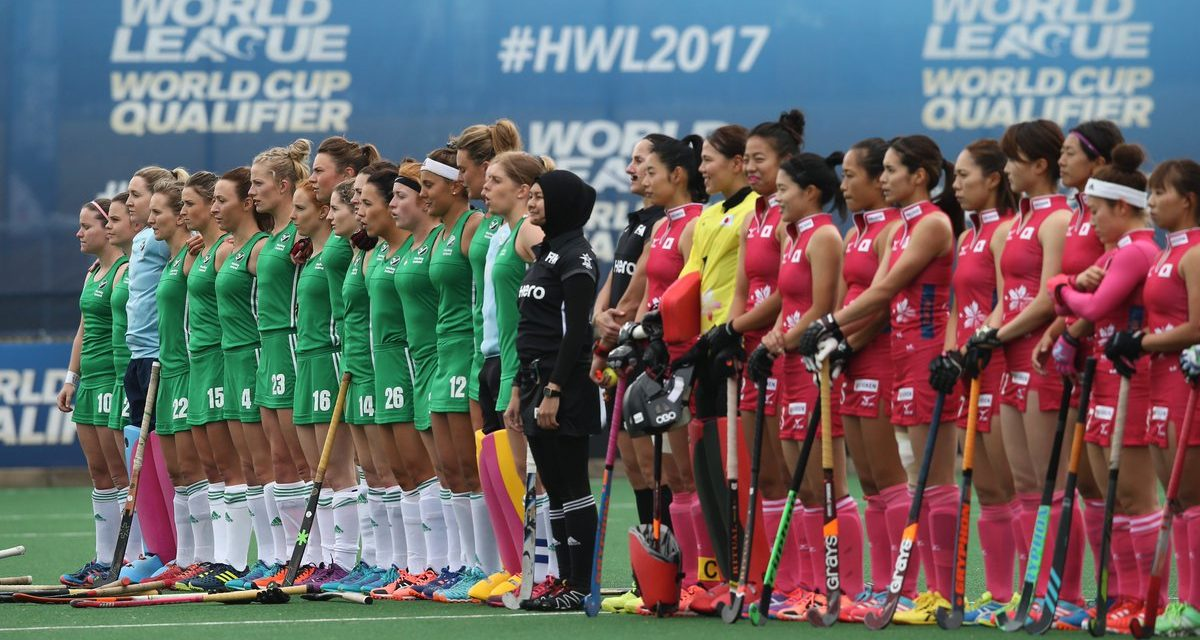 Limerick's Roisin Upton scores as Ireland draw 1-1 with Japan in Johannesburg