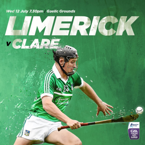Limerick & Clare name teams for Munster U21 Hurling Semi Final