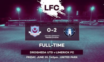 Limerick FC pick up valuable three points in Louth
