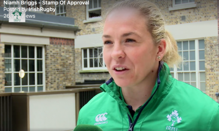 Niamh Briggs honoured in World Cup postage stamp