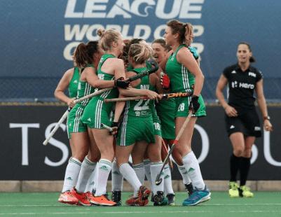 Ireland run England close in World Hockey League
