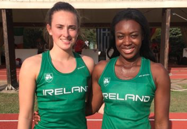 WATCH: Limerick's Ciara Neville joins Gina Akpe-Moses in European U-20's 100m final