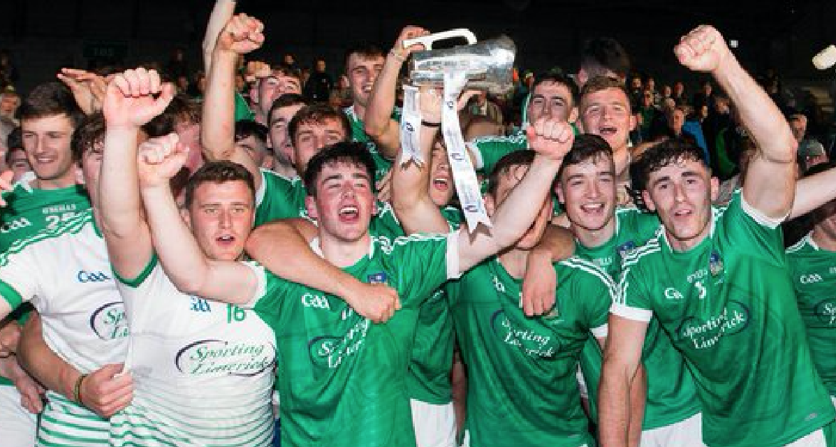 Limerick hold off stubborn Cork effort to win Munster U21 Hurling Championship