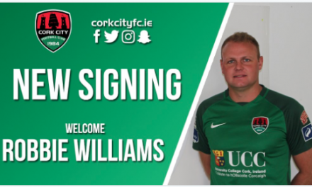 Ex-Limerick defender Robbie Williams joins Cork City