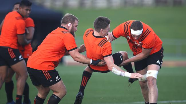 All Blacks punch up at training suggests how hurt they are