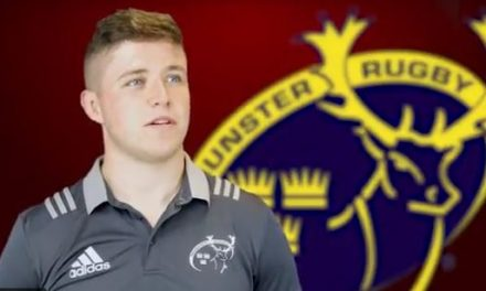 Watch – Rising Star Joey Conway speaks to Munster Rugby