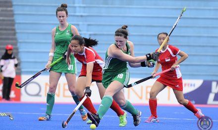 Irish Women's hockey team one win away from World Cup Qualification