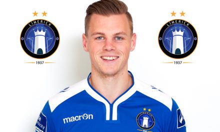 Limerick FC player Ian Turner leaves the club