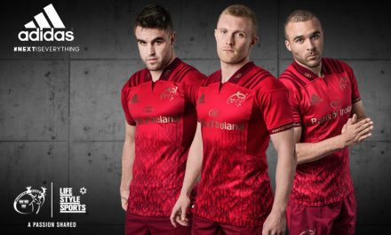 Munster unveil new home jersey for 2017/18 season
