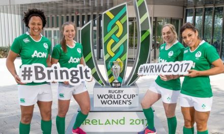 Women's Rugby World Cup Trophy comes to Limerick today
