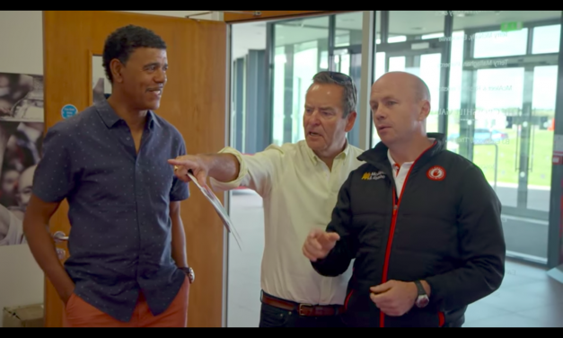 WATCH: Jeff and Kammy head up north to meet Peter Canavan.