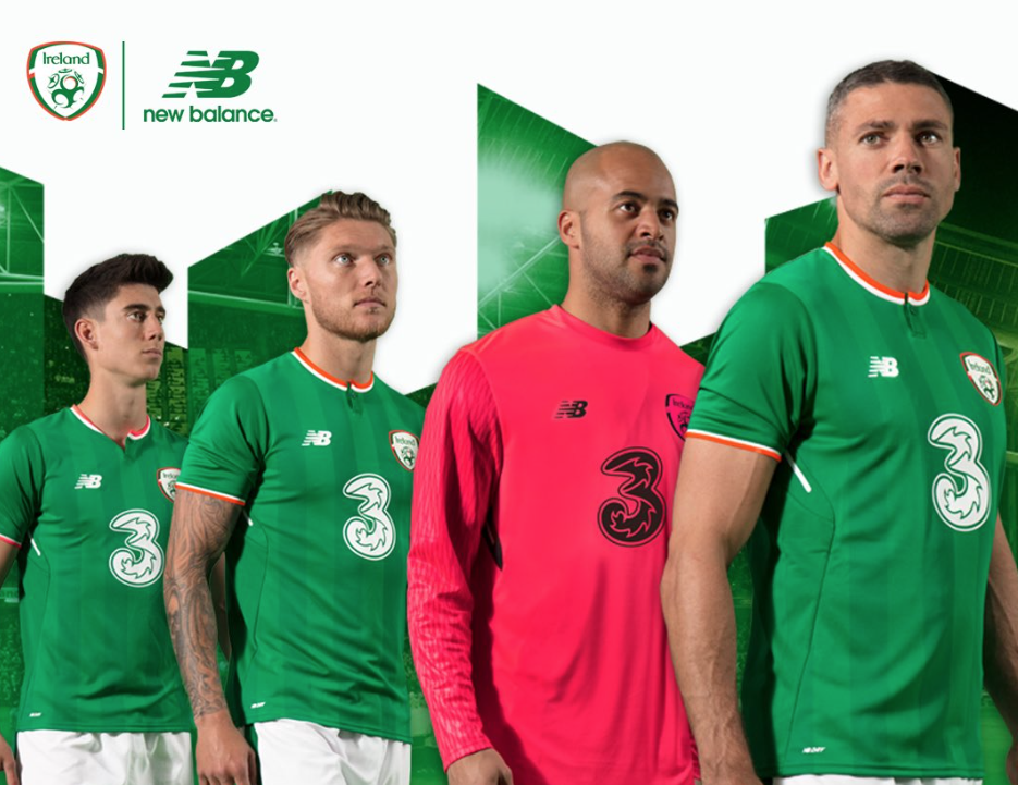 Mixed Reaction As New Balance Unveil New Irish Soccer