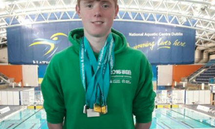 Finn McGeever wins bronze in 800 metre freestyle final in Slovenia