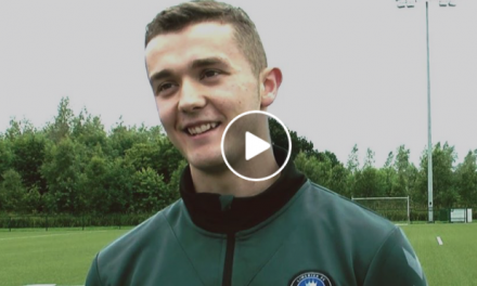 WATCH: LIT student John Blackwell about placement with Limerick FC