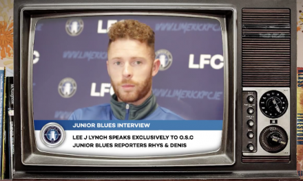 WATCH: Limerick FC midfielder Lee J. Lynch answers some interesting questions from Junior Blues