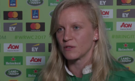 WATCH: Ireland captain Claire Molloy speaks at the launch of the Women's World Cup