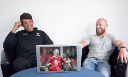 WATCH: Peter Stringer & Donncha O'Callaghan recall some of their Munster moments