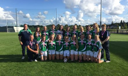 Limerick lady footballers crowned U17 All Ireland Plate champions