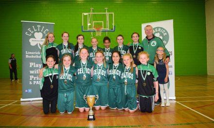 Limerick Celtics Under 14 Girls Win National Invitational Tournament