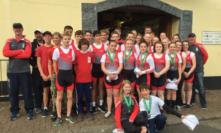 Castleconnell Boat Club Juniors enjoy 13 wins in the Carrick on Shannon Sprint Regatta