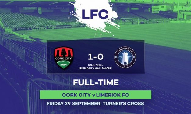 Limerick fall short at Turner's Cross as they bow out of FAI Cup