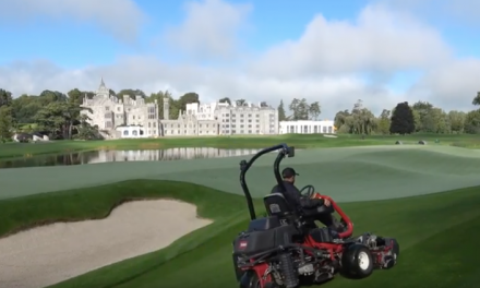 WATCH: Adare Manor's renovated course certainly has the wow factor