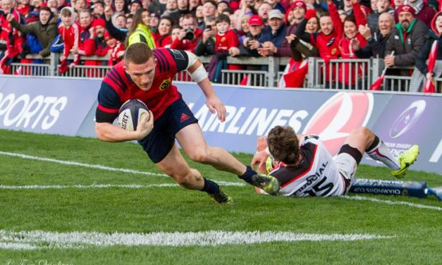Key stars passed fit for Munster's European clash with Toulon