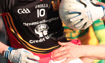 Adare and Drom square off to see who will face Newcastle in County football final