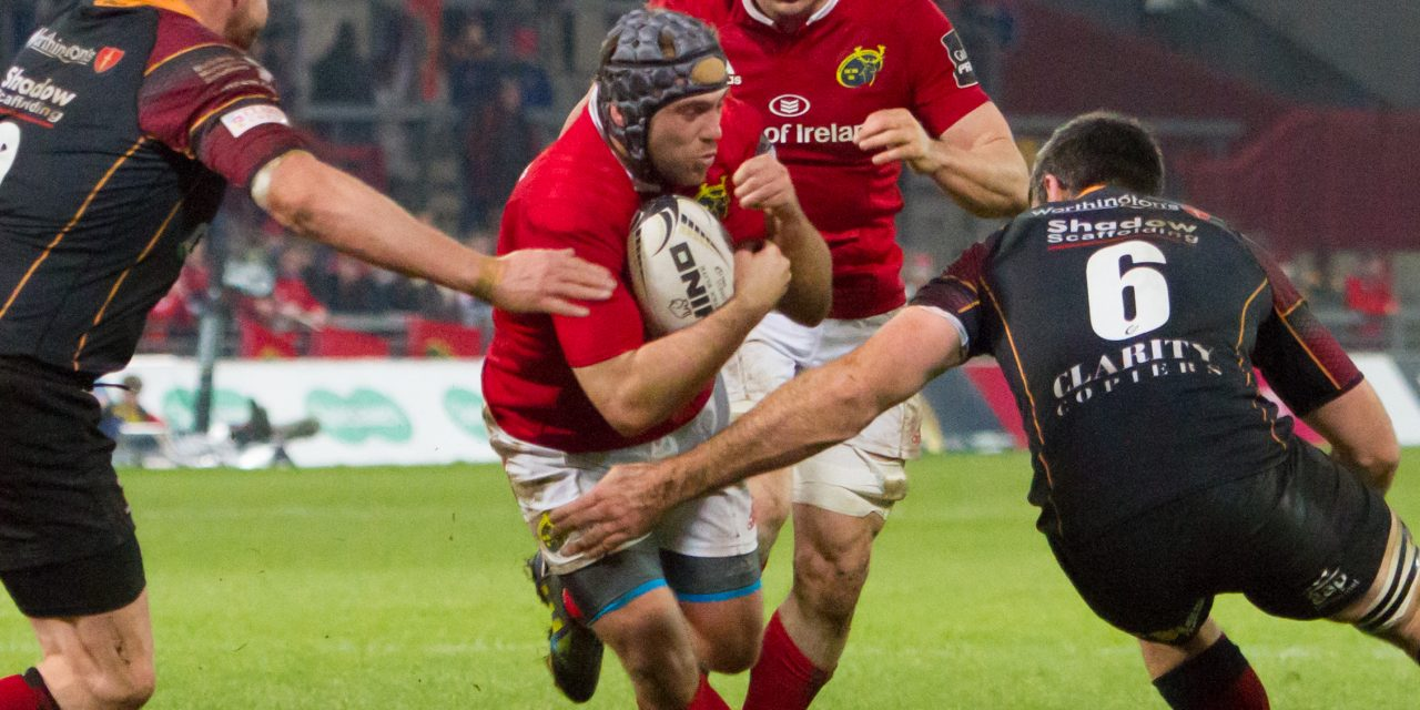 WATCH – Duncan Williams talks Zebre clash and winning 150th Munster cap