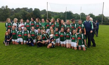 LISTEN: Post match reaction as Gerald Griffins claim county junior ladies football title