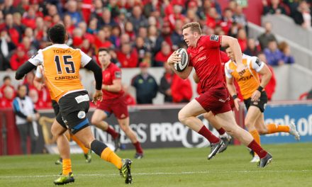Chris Farrell set to miss Munster's crucial December schedule with knee injury