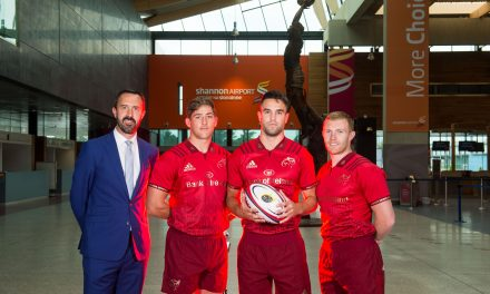 Shannon Airport become exclusive airport partner for Munster Rugby