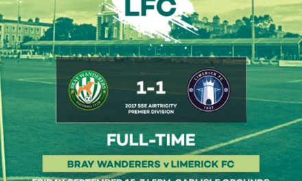 Limerick FC escape with a point from the Carlisle Grounds