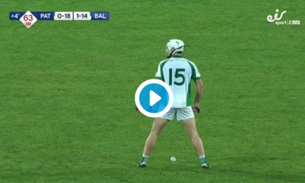 WATCH: Reaction as Ballybrown and Patrickswell 1/4 final ends level