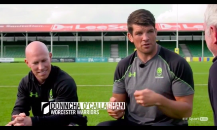 WATCH: Donnacha O'Callaghan tell's great story about a prank he played on his coaches in his Munster days