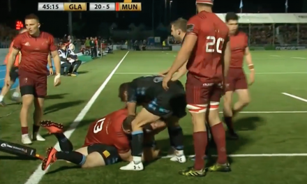 WATCH: Highlights of Munster's defeat to Glasgow