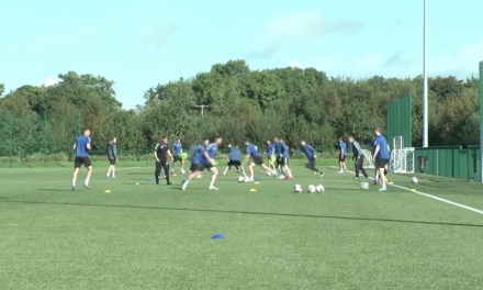 WATCH: Limerick FC train ahead of FAI Cup Semi-final