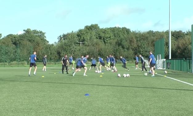 WATCH: Limerick FC train ahead of FAI Cup Semi-final