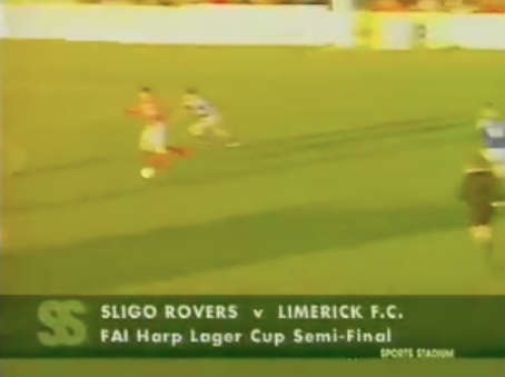 WATCH: Limerick FC's last outing in an FAI Cup Semi Final