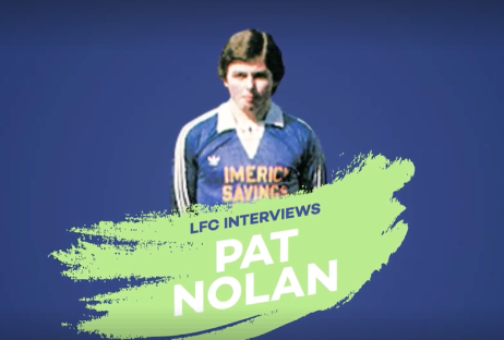 WATCH: Pat Nolan chats with Limerick FC about his FAI Cup Memories