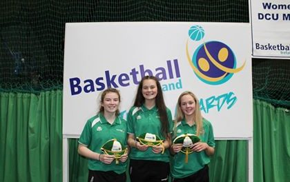 International Basketball caps for 6 Limerick students over the weekend