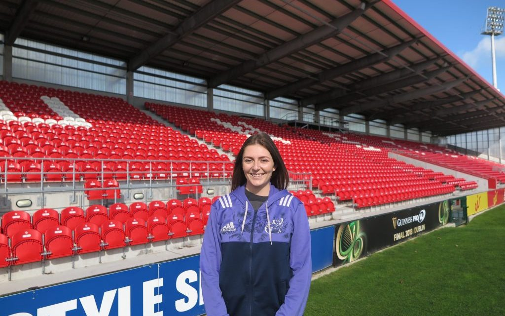 """Emily O'Leary appointed as Munster """"Spirit Officer"""""""