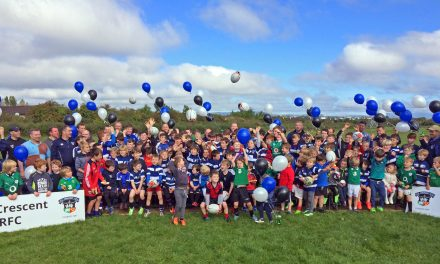 Old Crescent open two new underage pitches in Rosbrien
