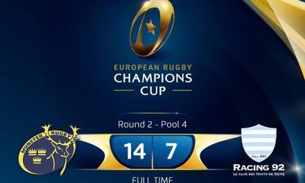 WATCH: Munster V Racing 92 highlights