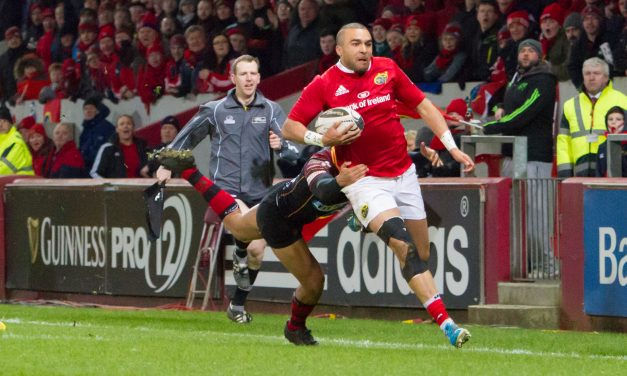 WATCH – What Thomond Park means to Simon Zebo ahead of last European game at the venue