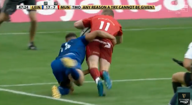 WATCH: Highlights of Munster's defeat to Leinster