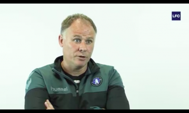 WATCH: Limerick FC manager Neil McDonald discusses securing his side's Premier Status for another year