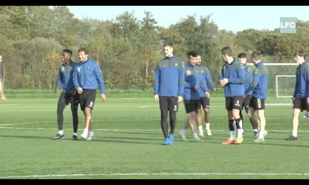 WATCH: Limerick FC trained this week ahead of their last game of the season