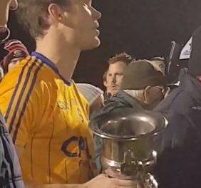 Watch – St Senans Captain Ian Ryan gives passionate speech following IFC Final win